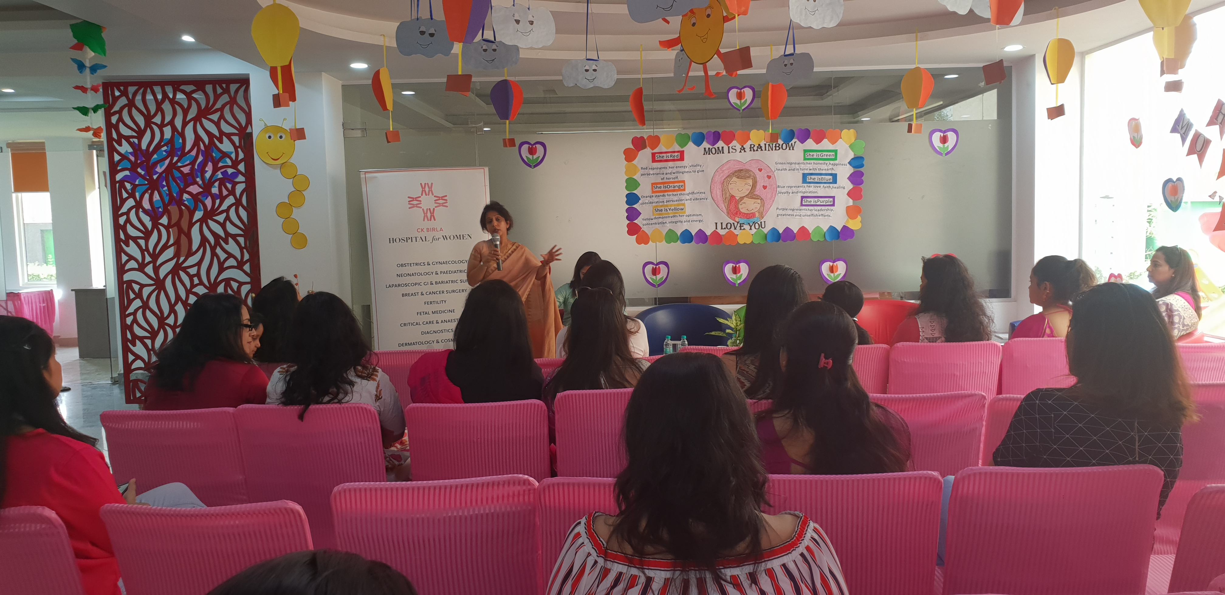 Mother's Day work shop In Association with CK Birla Hospital